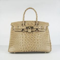 Hermes Birkin bag 30 Tabac camel Crocodile Head Skin Silver hardware has the more flexible choice in material and color.Don't miss the hermes bags store . Sac Birkin Hermes, Hermes Bags, Hermes Handbags, Fashion Handbags, Fashion Bags, Birkin Bags, Chloe Handbags, Designer Handbags On Sale, Cheap Designer