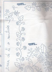 esquema 05 Gold Work, Hand Embroidery Patterns, Tea Towels, Needlework, Diy And Crafts, Traditional, Paper Mache, Handmade, Design
