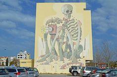FOTOGRAFIAS DEL MUNDO: Graffiti del artista Ariz en Lagos, Portugal (dedi...