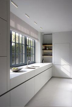 Kitchen in a Belgian