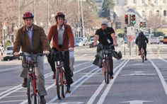 "More and more city planners are seeing bike lanes as ""a rational part of the mobility picture."""