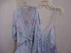 Gilead Peignoir Set Long Robe Negligee Nighgown by cachecastle