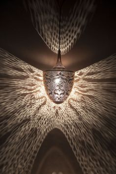 The Rotem Collection creates stunning lighting patterns. Pendant Lamp, Pendant Lighting, Suspended Lighting, Moroccan Lanterns, Thing 1, Lighting Ideas, Canada, Pendants, Shades