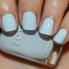 Zoya - 'Blu'. I'm so digging this color!! Want. Want. Want!!!