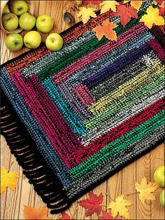I see this in fabric scraps, much like a vintage braided rug for door mats, bath… – Braided Rugs Crochet Braid Pattern, Crochet Mat, Crochet Rug Patterns, Braid Patterns, Crochet Home, Crochet Braids, Tapetes Diy, Braided Rag Rugs, Knit Rug