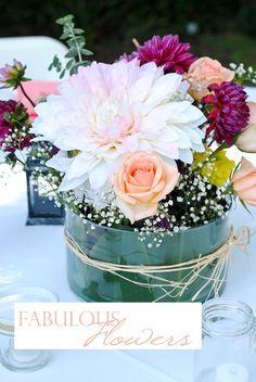 How To: Flower Arrangement...although Chris seems to know how to arrange flowers somehow. @Kallei Mapes Mapes @Lauren Davison Burkhard