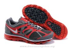 487982-110 Grey Red White Nike Air Max 2012 Womens For Wholesale