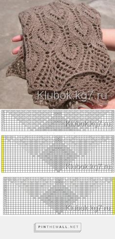 Knitting Machine Patterns Lace Shawls 16 Ideas For 2019 Knitting Machine Patterns, Knitting Stiches, Knitting Charts, Free Knitting, Shawl Patterns, Lace Patterns, Stitch Patterns, Crochet Patterns, Knitting Designs