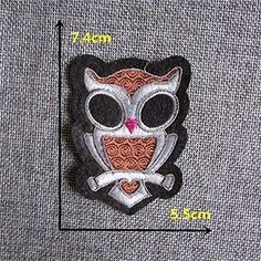 FairyTeller Cartoon Animalpattern Patch Hot Melt Adhesive Applique Embroidery Patch Diy Clothing Accessory Patch >>> Click on the image for additional details.