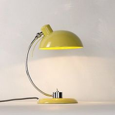 Buy Quince John Lewis Penelope Task Lamp from our Desk & Table Lamps range at John Lewis. Free Delivery on orders over Yellow Desk, Yellow Lamps, A Table, Table Lamp, Flat Interior, Interior Design, Task Lamps, Light Of My Life, Farmhouse Furniture