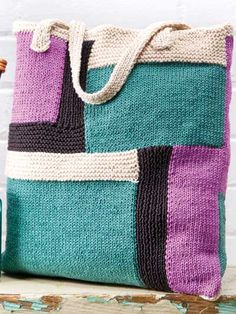 7 Easy-to-Knit Handbags for Every Occasion Booklet - Go to Annie's Attic.com and Buy it!!