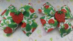Hair Bow Boutique with Strawberry Hair Bow School от JuliaBabyShop