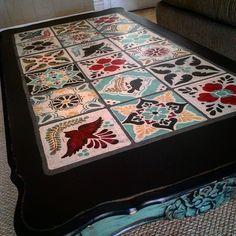 Fresh Talavera Tile Table