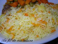 Un très bon accompagnement!  Pour 6 personnes Ingrédients : 3 tasses de riz(thai ou basmati)     ...