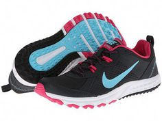 a0bab2a5a200 Nike Wild Trail Anthracite Vivid Pink White Polarized Blue - Zappos.com · Running  Shoes ...