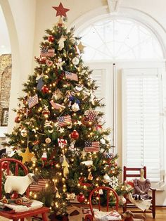 Creative Christmas Tree Themes from Better Homes and Gardens