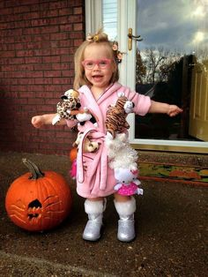 Crazy cat lady toddler Halloween costume More