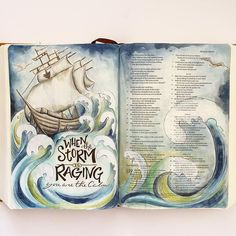 25 Breathtaking Bible Journaling Ideas - - If you're looking for Bible journaling ideas, I have 25 Bible journal pages to share. Bible journaling is the art of keeping notes in your bible. Art Journaling, Bible Study Journal, Scripture Study, Bible Art, Journal Pages, Bible Bullet Journaling, Nature Journal, Journal Prompts, Journal Ideas