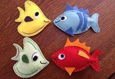 keçeden balık süsler yapımı