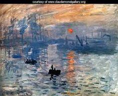 Impressioni sole nascente #impressionismo