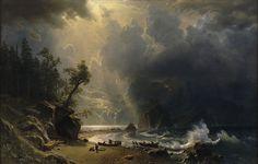 1024px-Albert_Bierstadt_-_Puget_Sound_on_the_Pacific_Coast_(1870).jpg (1024×652)