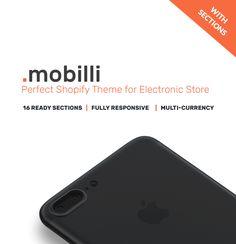 Mobile Store Responsive Shopify Theme #63964