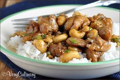 Easy Cashew Chicken from Very Culinary