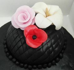 One of our past almond cakes - Lady T Cakes
