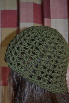 Gorro sencillo tejido al crochet