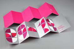 accordian fold.