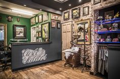 Image result for tattoo shop design