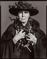 Louise Nevelson, sculptor, Louise Nevelson (1899-1988) born in Kiev, Ukraine, died in NYC