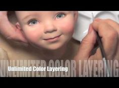 Diluting Paint for Eyelashes & Eyebrows - YouTube