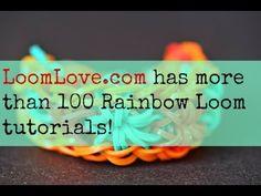 awesome How to Make A All Around Triple Rainbow Loom Bracelet Tutorial
