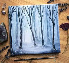 WEBSTA @ jennifertaylorart - Winter Woods A little piece of quiet still woods, a little piece in between the bigger piece I'm working on. -----------------------------Oil paints on cotton canvas.-----------------------------Happy Sunday -----------------------------Snap jentaylorartistFacebook.com/jentaylorartist-----------------------------#art #woods #winter #winter #winterwoods #snow #cold #nature #painting #oilpainting #oiloncanvas #art_we_inspire #imagination #trees #subtle ...