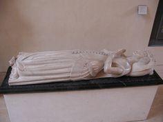 Tomb effigy Anne de Bourgogne,Duchess of Bedford
