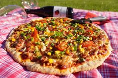Vegetable Pizza, Toast, Vegetables, Yummy Yummy, Food, Hampers, Essen, Vegetable Recipes, Meals