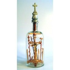 Crucifixion Scene in bottle