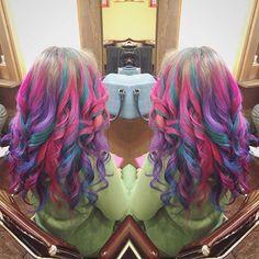 WEBSTA @ tubbyhairmake - *カラフルグラデ*#hairmaketubby#hair#cut#color #hairstyle #hairsalon #beauty #manicpanic #colorfulhair #Japan#ブリーチカラー #グラデーション#バイヤージュ #カラフルヘアー #マニパニ#マニックパニック #透明感カラー #イベント#フェス #カット#ヘアカラー #ヘアースタイル#津田沼#船橋#千葉#美容室#撮影モデル募集 #サロモ #thankyou #followme Dreadlocks, Spring, Hair Styles, Beauty, Instagram, Beleza, Dreads, Hair Looks, Cosmetology