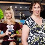 MIranda Hart.  Such Fun.  Funniest TV show on earth right now.  Heavens. Just looking at this picture cracks me up!