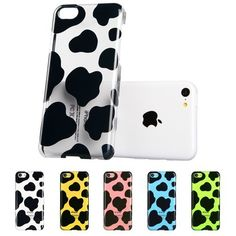 ESR Animal Kingdom Series Hard Clear Back Cover Snap on Case for iPhone 5C (Cow). There is only one case in the package; images on the first photo are designed to show what it exactly looks like when you have the clear case on colorful iPhone 5c. Impeccable molding and cuts form a perfect fit which easily snaps on or can be easily removed along with leaving every port and connection available. High quality polycarbonate material is environmentally-friendly, flexible and exceedingly…