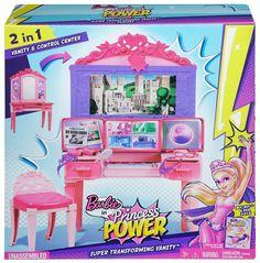 Barbie CDY64 - Princess Power Superhero Vanity Playset ** PURCHASE TODAY **