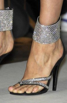 Cheap stilettos can make ladies sexy and charming. Ericdress sells stiletto heels and you have every reason to shop for cheap stiletto sandals from this website. Hot Shoes, Crazy Shoes, Me Too Shoes, Stilettos, Stiletto Heels, Zapatos Shoes, Shoes Heels, Bling Heels, Sparkly Heels