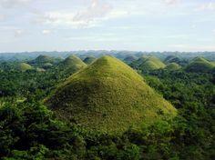Chocolate Hills, Philippinen   Chocolate Hills auf den Philippinen
