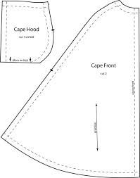 Image result for doll cape patterns