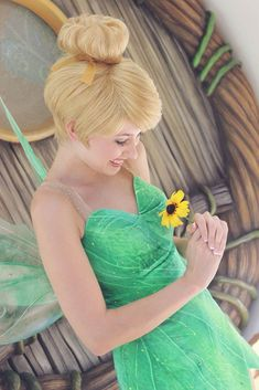 Perhaps the most famous and prettiest fairy in the magical world, Tinker Bell from the Neverland who was Peter Pan's most loyal friend and companion through all his magical and perilous adventures.