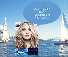 Linha Blue Sbellafio - Para um Loiro perfeito!