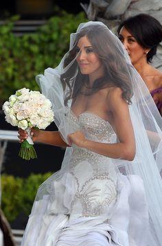 Rebecca Twigley Marries wearing divine J'Aton Wedding Dress   Sassi Sam Girlie Gossip Files
