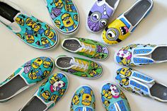 KIDS Custom Toms Vans or Converse Canvas Shoes by punkprojects, $80.00 use the code CHRISTMASSHOES for 20% off!