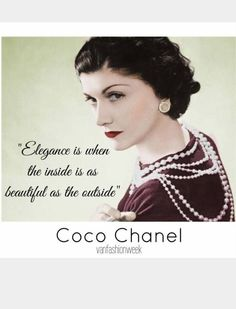 """Coco Chanel (B. Gabrielle Bonheur """"Coco"""" Chanel was a French fashion designer and businesswoman. She was the founder and namesake of the Chanel brand. Estilo Coco Chanel, Coco Chanel Mode, Mademoiselle Coco Chanel, Coco Chanel Fashion, Chanel Style, Chanel Frases, Citations Chanel, Citation Coco Chanel, Coco Chanel Quotes"""